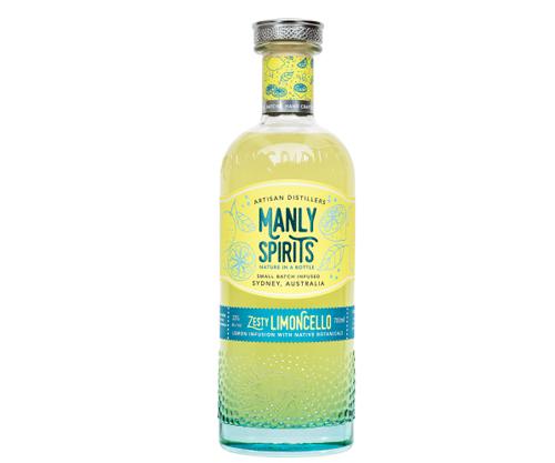 Manly Spirits Zesty Limoncello 700ml