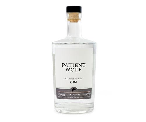 Patient Wolf Premium Dry Gin 700ml