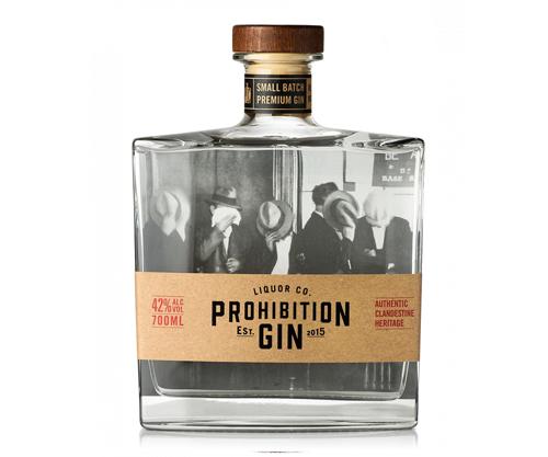 Prohibition Liquor Gin 700mL