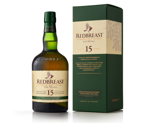 Redbreast 15 Year Old Single Pot Still Irish Whiskey 700ml