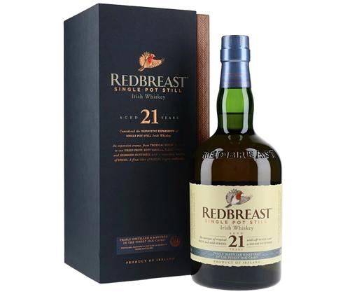 Redbreast 21 Year Old Single Pot Still Irish Whiskey 700ml