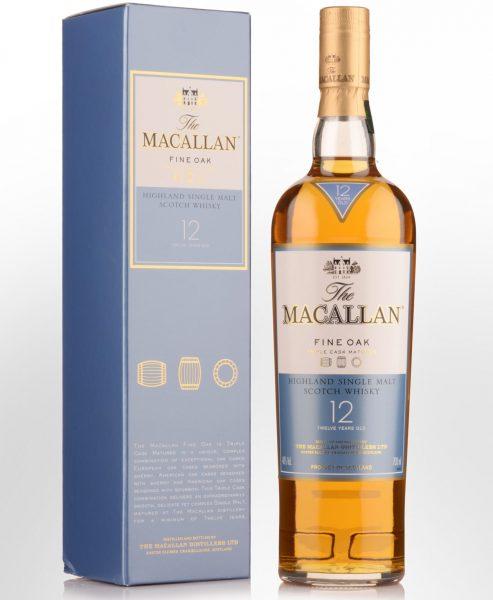 The Macallan Fine Oak 12 Year
