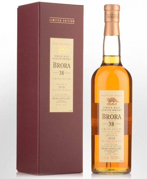1977 Brora 38 Year Old Cask Strength Single Malt Scotch Whisky (700ml) - Special Release 2016