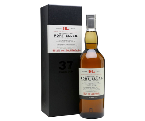 1978 Port Ellen 16th Release 37 Year Old Cask Strength Single Malt Scotch Whisky 700ml – Special Release 2016