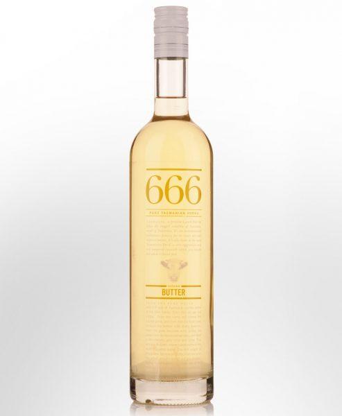 666 Autumn Butter Flavoured Vodka (700ml)