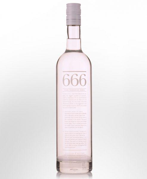 666 Pure Tasmania Vodka (700ml)