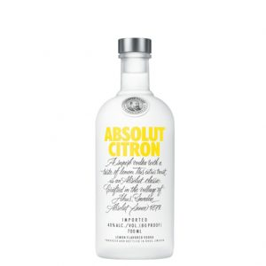 Absolut Citron Flavoured Vodka 700mL