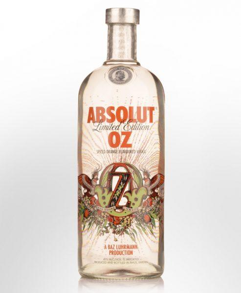 Absolut OZ Spiced Orange Flavoured Vodka (1000ml)