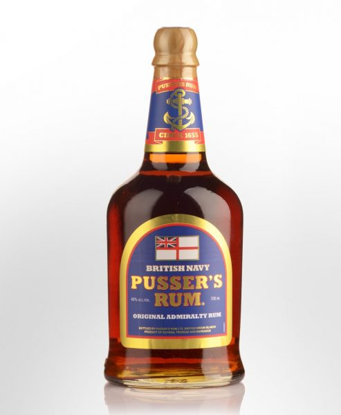 British Navy Pussers Navy Rum (700ml)