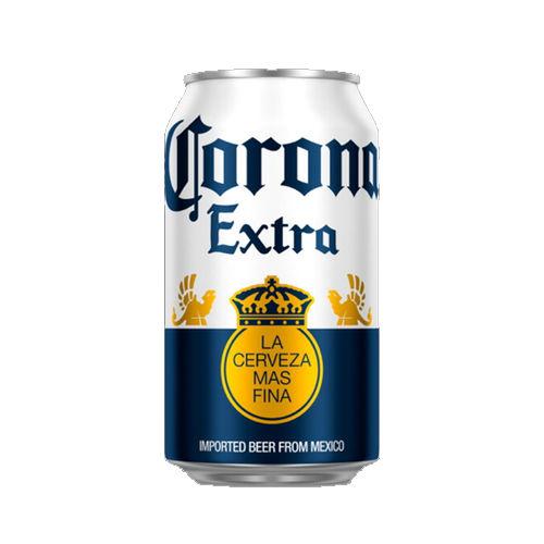CORONA CANS – 24 X 355ML 4.5% ALCOHOL