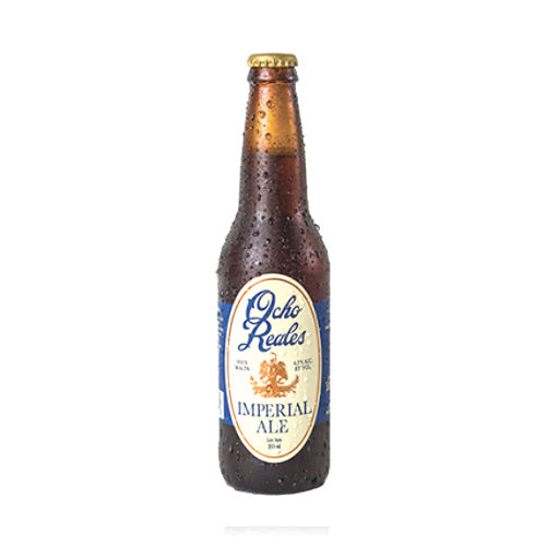 OCHO REALES IMPERIAL ALE (CRAFT GLUTEN FREE BEER)- 24 X 355ML 6.5% ALCOHOL