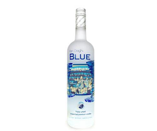 Van Gogh Blue Triple Wheat Blend Vodka 750ml
