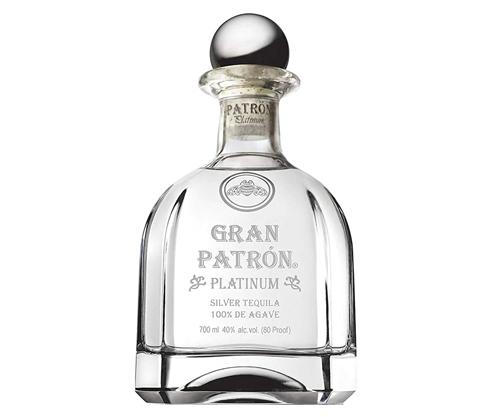 Gran Patron Platinum Silver 100% Agave Tequila