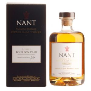Nant Bourbon Wood Single Cask Single Malt Australian Whisky 500mL