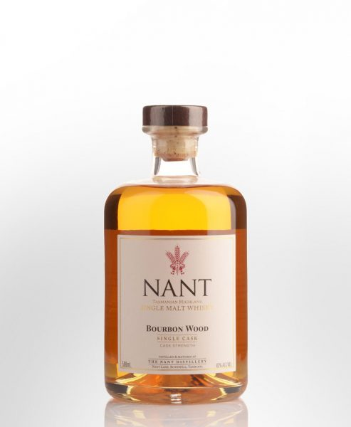 Nant Single Cask Bourbon Wood Cask Strength Single Malt Australian Whisky (500ml)