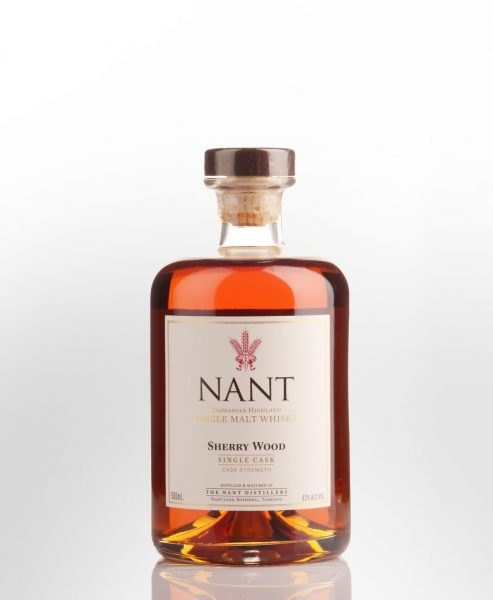 Nant Single Cask Sherry Wood Cask Strength Single Malt Australian Whisky (500ml)
