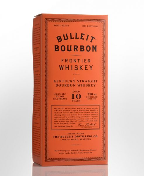 Bulleit 10 Year Old Bourbon Whiskey (750ml)