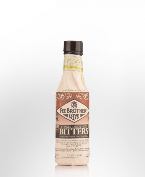 Fee Brothers Whiskey Barrel-Aged Bitters (150ml)
