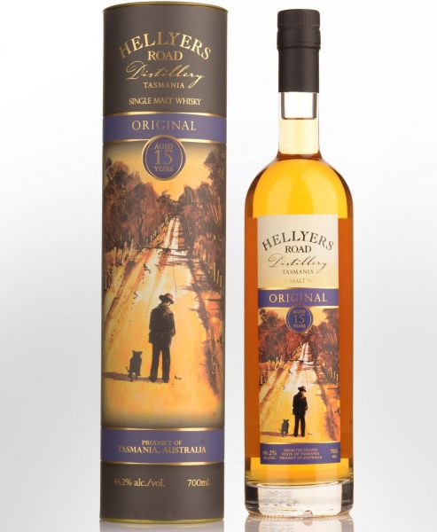 Hellyers Road Distillery Original 15 Year Old Single Malt Australian Whisky (700ml)