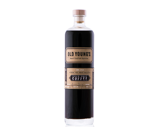 Old Youngs Cold Drip Coffee Vodka 700mL