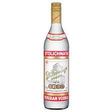Stolichnaya Premium Russian Vodka 1000ml