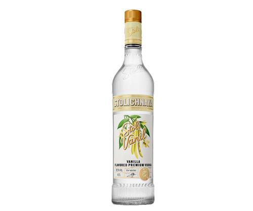 Stolichnaya Stoli Vanil Vanilla Flavoured Vodka
