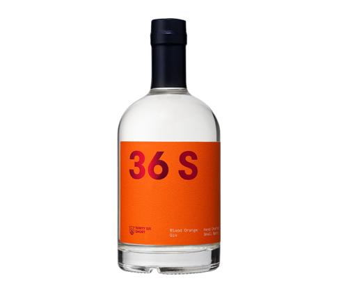 36 Short Blood Orange Gin 500mL