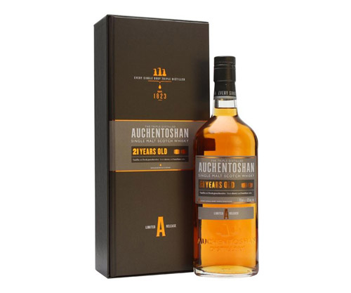 Auchentoshan 21 Year Old Single Malt Scotch Whisky
