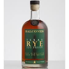 Balcones Texas 100 Proof Rye Whisky (700ml)