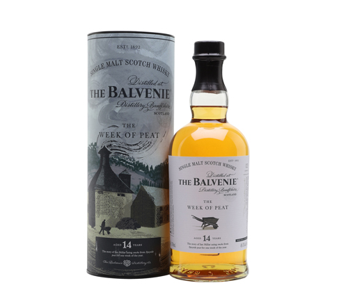 Balvenie Week of The peat 14 Year Old Single Malt Scotch Whisky