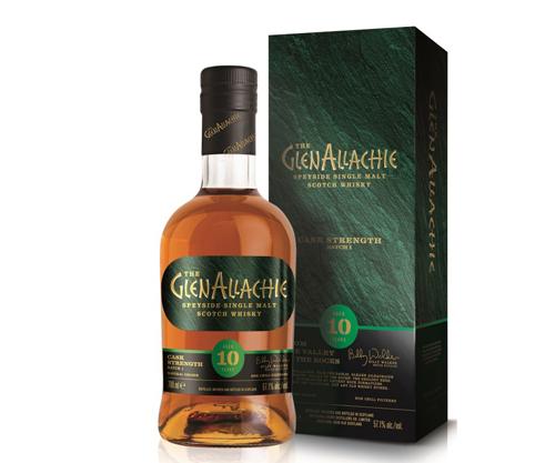 Glenallachie 10 Year Old Cask Strength Single Malt Scotch Whisky 700mL
