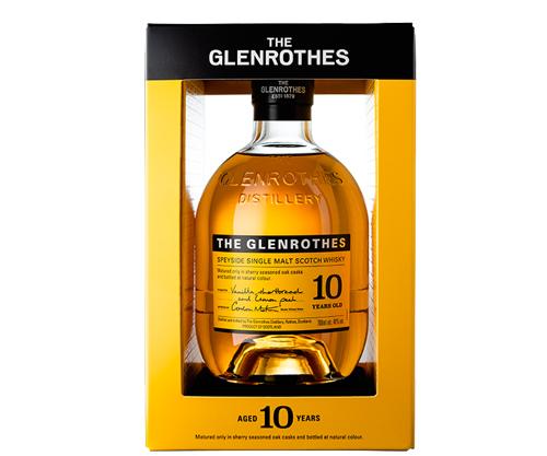 Glenrothes 10 Year Old Single Malt Scotch Whisky 700mL