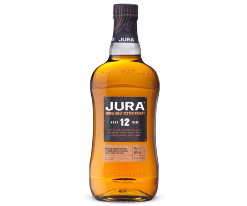 Jura 12 Year Old Single Malt Scotch Whisky 700ml