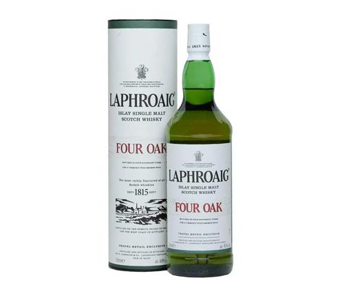 Laphroaig Four Oak Single Malt Scotch Whisky 1000mL