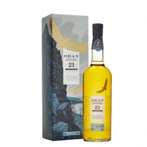 Oban 21 Year Old Cask Strength Single Malt Scotch Whisky 700ml