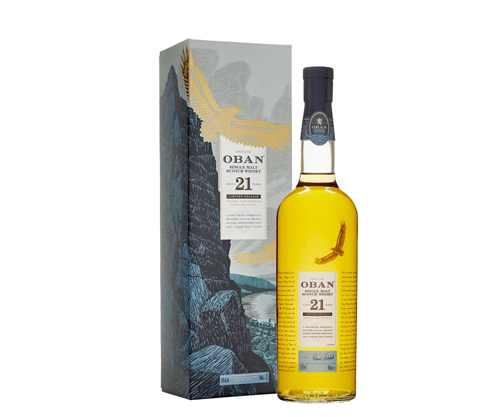 Oban 21 Year Old Cask Strength Single Malt Scotch Whisky 700ml