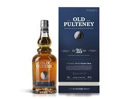 Old Pulteney 25 Year Old Single Malt Scotch Whisky (700ml)