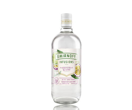 Smirnoff Infusions Passionfruit & Lime