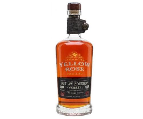 Yellow Rose Outlaw Bourbon Whiskey 700mL