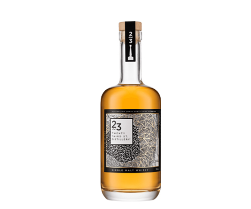 23rd Street Distillery Single Malt Australian Whisky 700mL