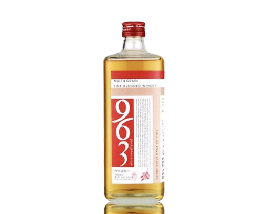 963 Yamazakura Red Label Malt & Grain Blend Whiskey 700mL