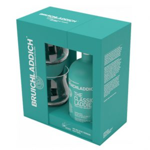 Bruichladdich Laddie Classic Scotch Whisky Gift Pack 700mL