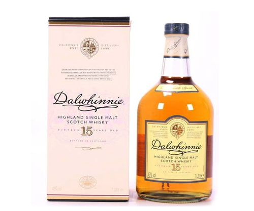 Dalwhinnie 15 Year Old Single Malt Scotch Whisky 1000ml
