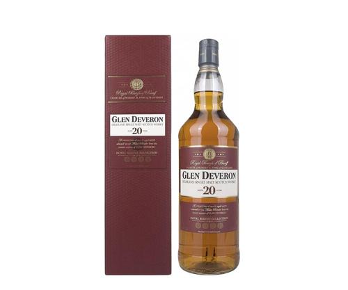 Glen Deveron 20 Year Old Single Malt Scotch Whisky 1000ml