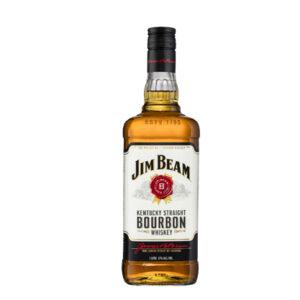 Jim Beam White Label Kentucky Straight Bourbon Whiskey 1000ml