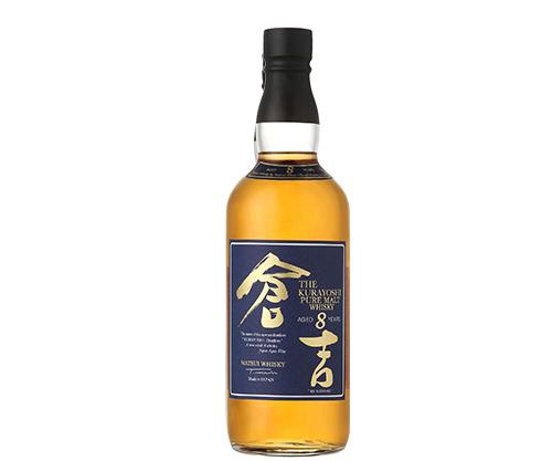 The Kurayoshi 8 Year Old Pure Malt Japanese Whisky 700ml