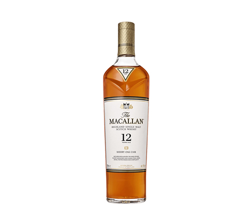 The Macallan 12 Year Old Sherry Oak Cask Single Malt Scotch Whisky 700mL