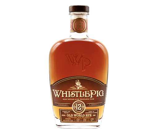 Whistle Pig Old World 12 Year Old Straight Rye Whiskey 750ml