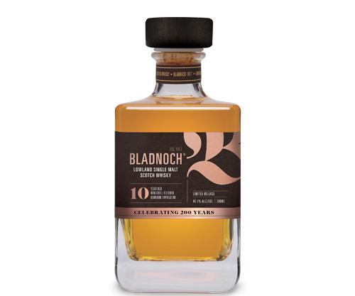 Bladnoch 10 Year Old Single Malt Scotch Whisky 700mL