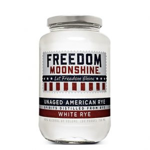 Freedom Moonshine White Rye 750mL